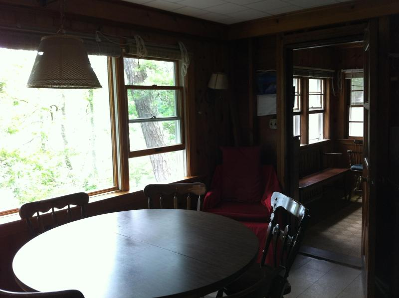 Dining to Bunk Room/Sleeping Porch