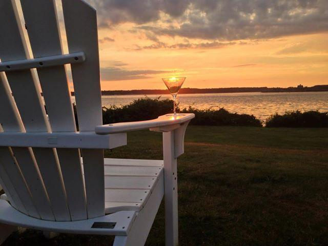 Enjoy a beautiful New England Sunset from Beavertail State Park