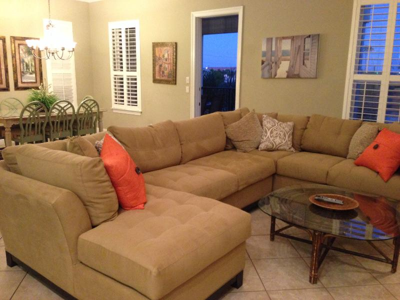 New sofa in the living room