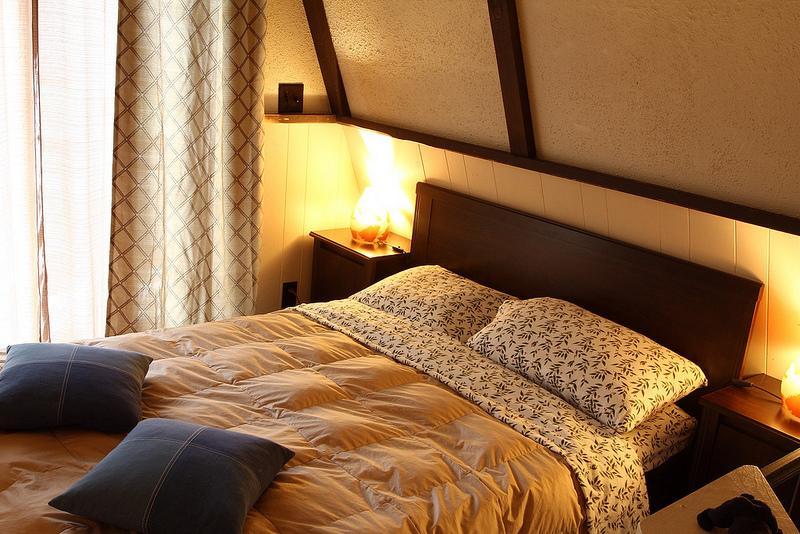 Loft bedroom (open space)