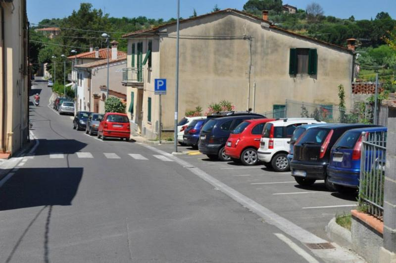 Parking in village is free, but limited space
