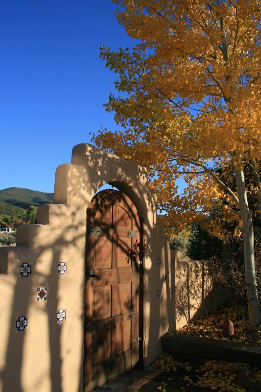 Passe pelo portão de Fernandez Hideaway