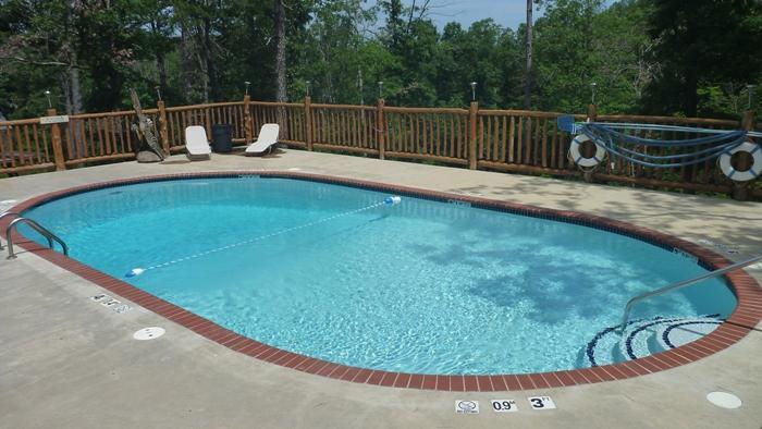 Refresh In Our Large Pool