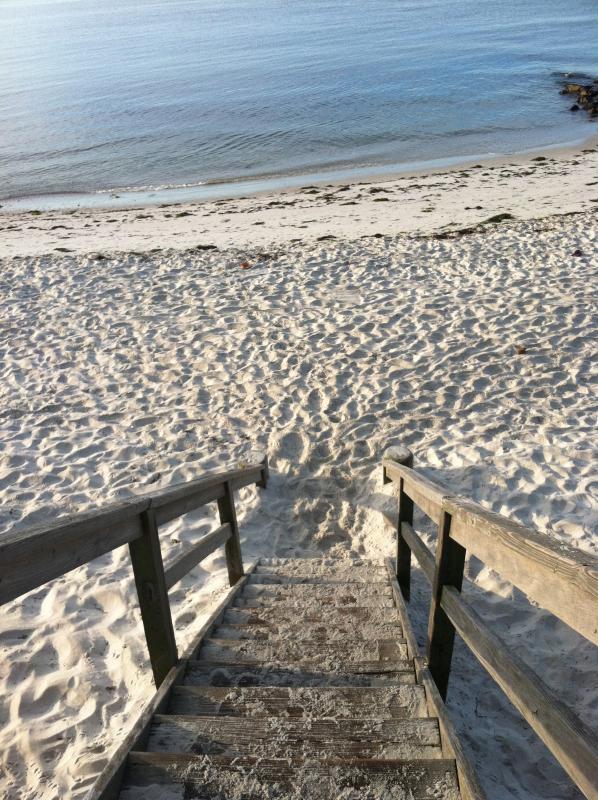 Stairs to Nantucket Sound Beach