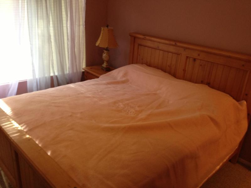 Gäst rum 2 funktioner Cal King size-säng