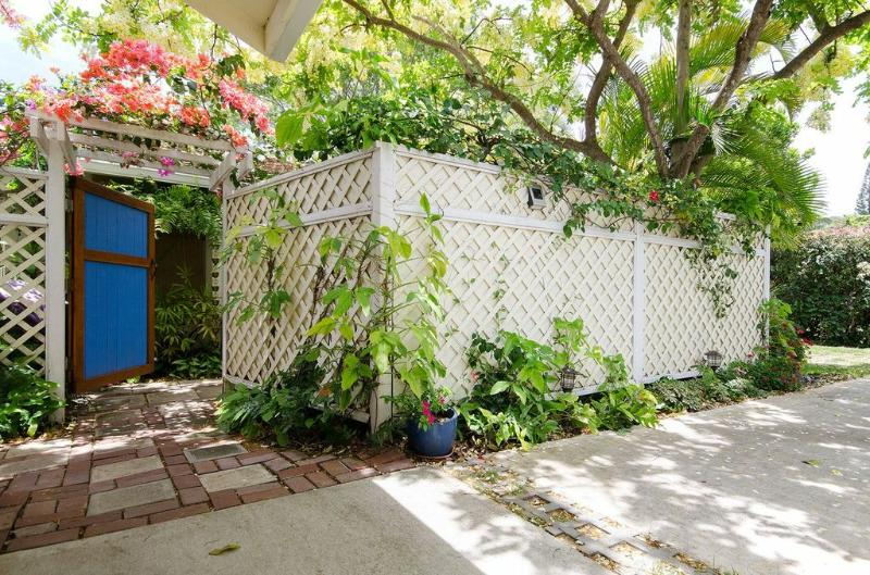Porte d'entrée jardin Suite