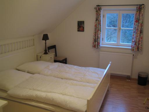 Dormitorio en el 'Upper Floor Apartment'