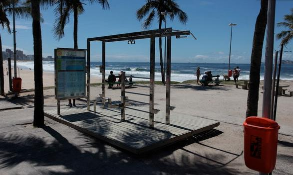 Outdoor fitness area and bike and jogging path nearby