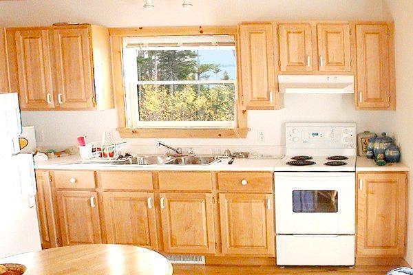 maple wood kitchen