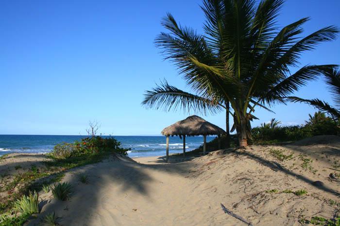 lusthus på stranden