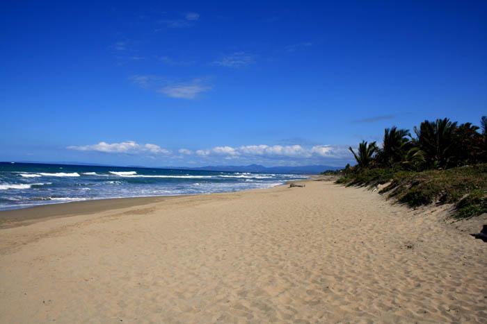 stranden i närheten av lägenheten