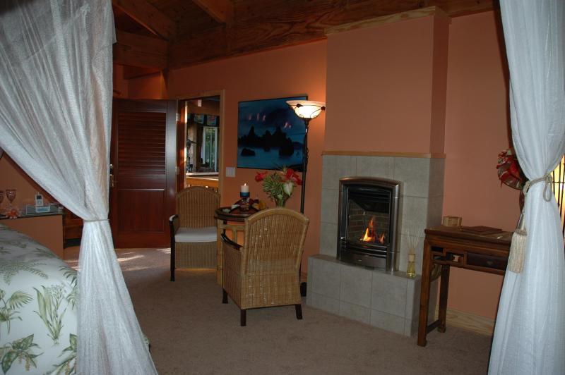 Fireplace Haiku Garden
