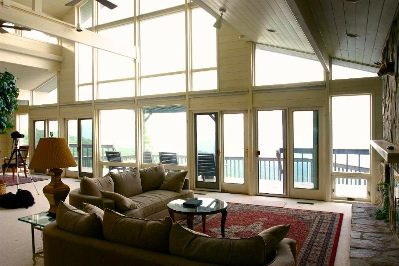 Great Room with 75 Mile Views
