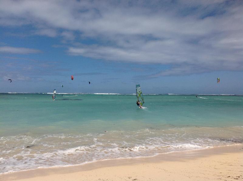 Kiteboarding legendario & wind surf spot en Le Morne