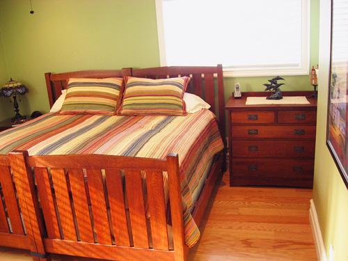 Guest Bedroom (King bed config)