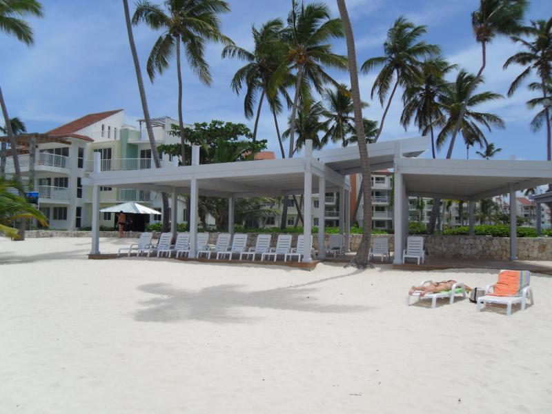 Área sombreada Beach Club