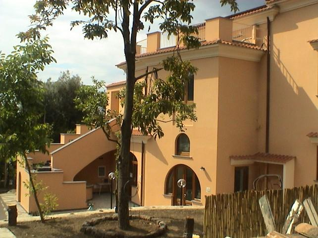External view of the Villa