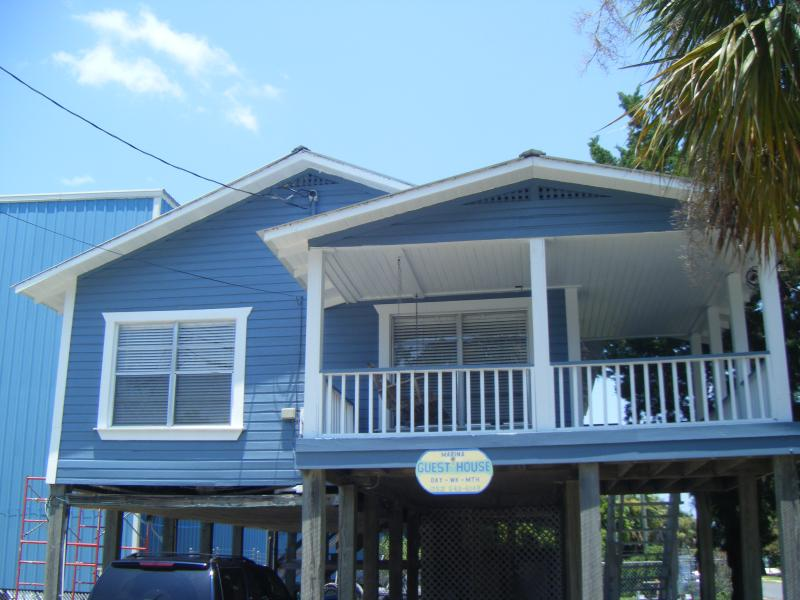 Front of stilt house