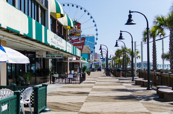 Make sure to visit the newly renovated Boardwalk in downtown Myrtle Beach