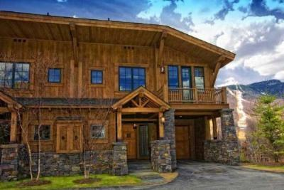 Inspiration Lane on Spruce Peak - Luxury Post  Beam home on Mountain with Views, Pool, Golf, Hot Tub  More