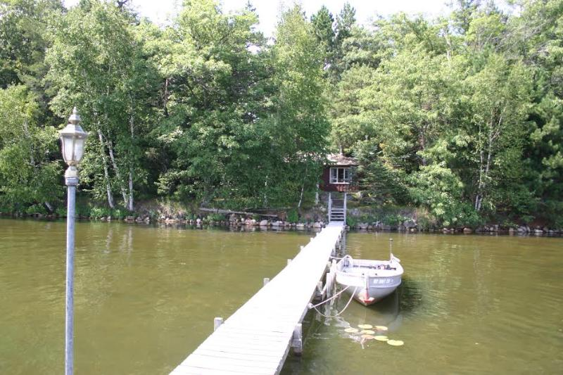 Lake Front Cabin in Pelican Lake WI, vacation rental in Summit Lake