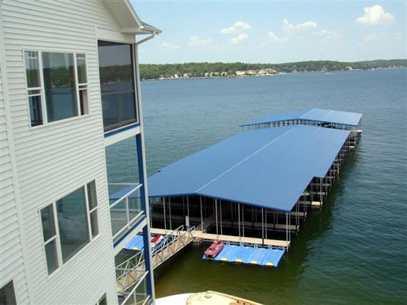 Awesome views and lake dock