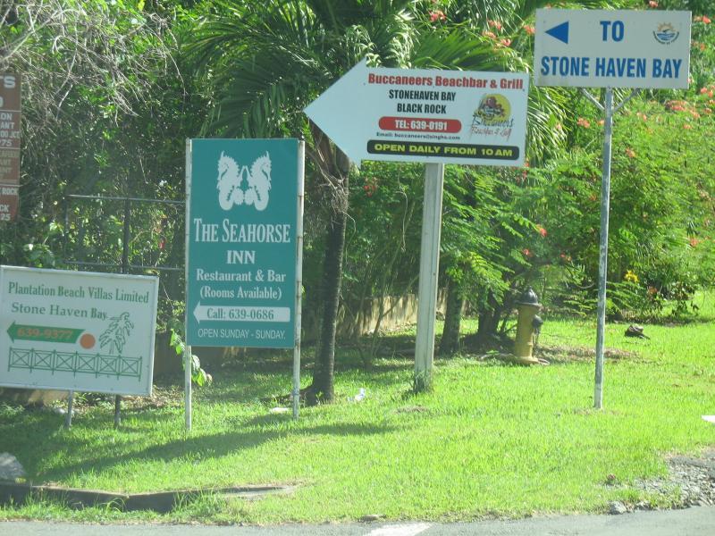 Road leading to Grafton/Stonehaven beach