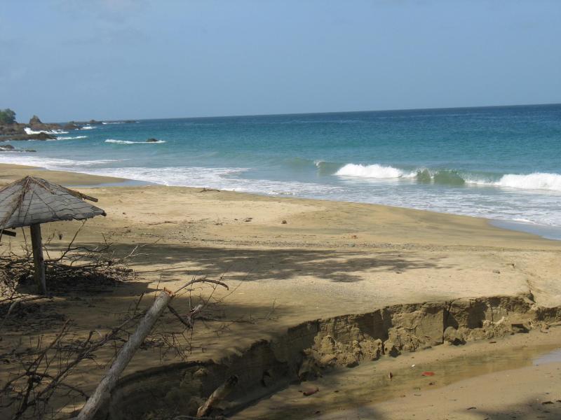 Grafton/Stonehaven beach closest to Villa. 10 mins. walk