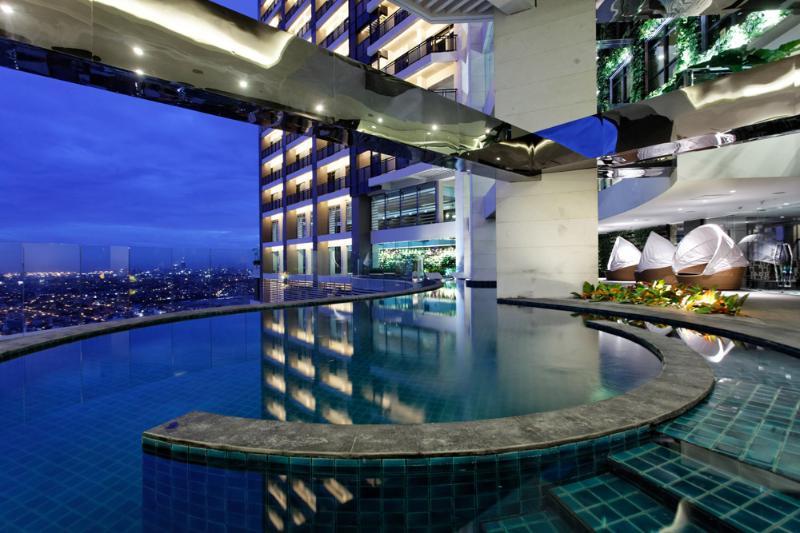 Sky pool