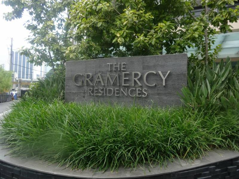 Entrance to gramercy
