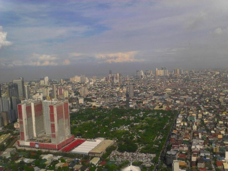 View from 36 floor