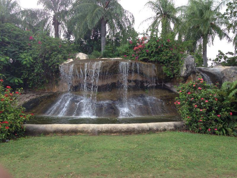Waterfall at main entrance