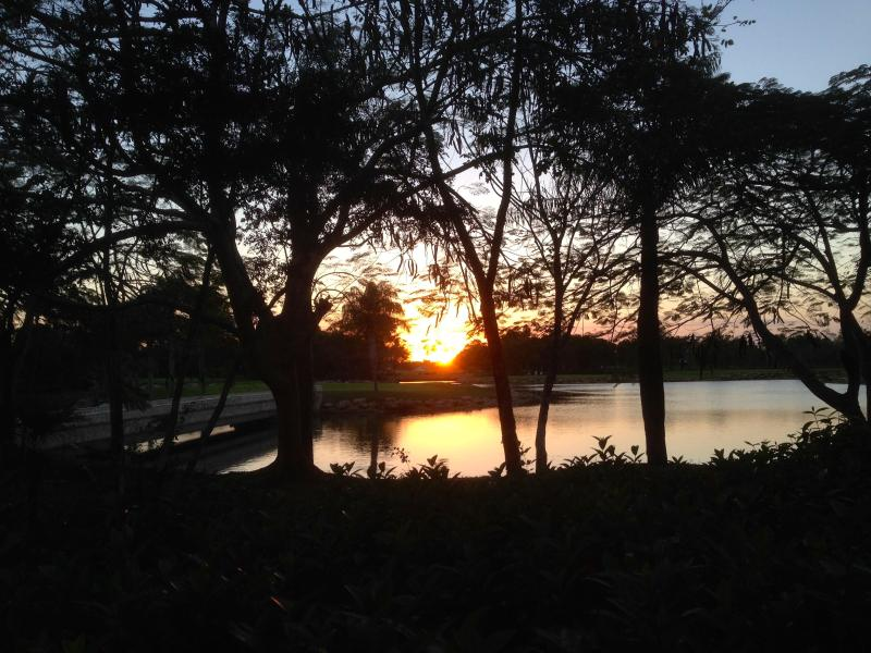 sunset by the lake pic 2