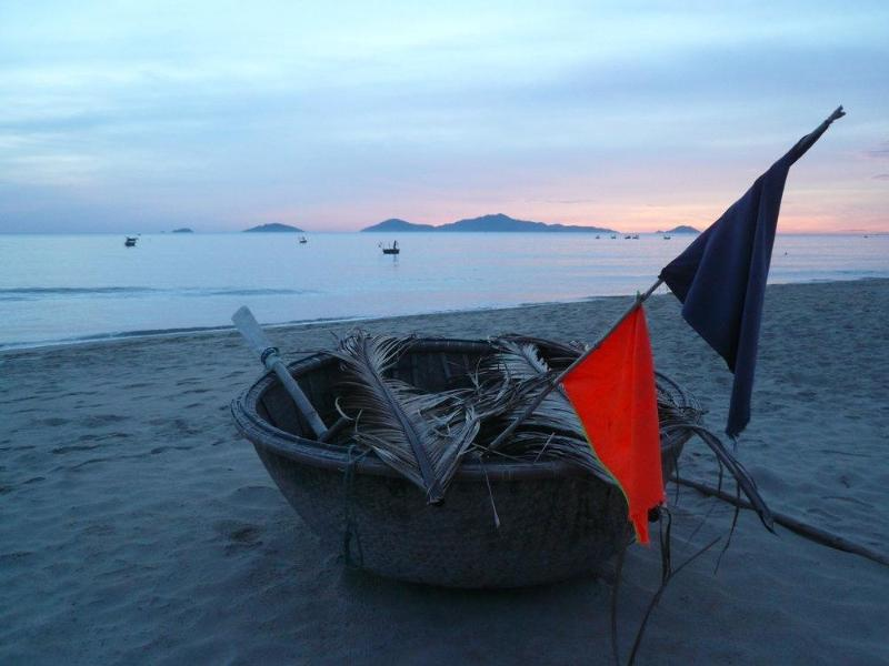 An Bang Beach Coracle at sunrise