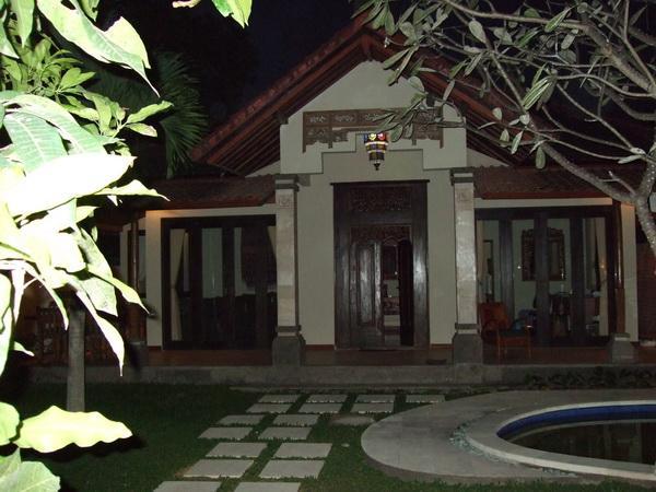 Tropical Villa Entrance