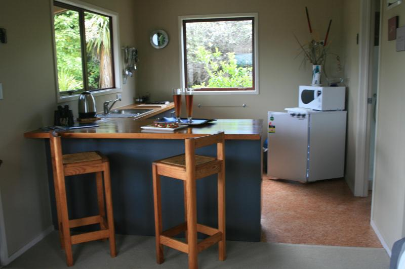 self contained kitchen area