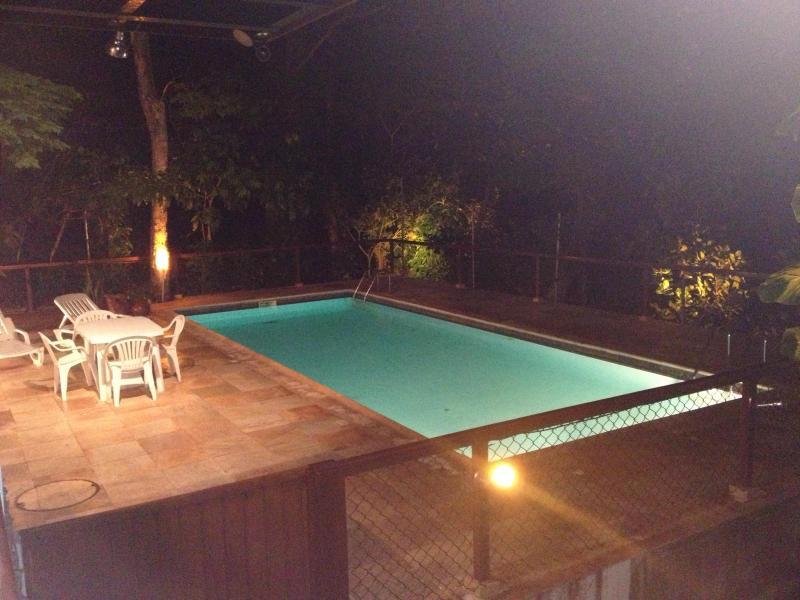 Swiming Pool  at night