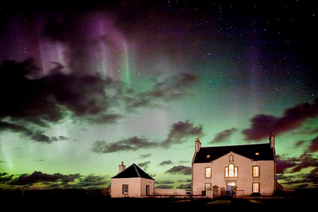 Mirrie Dancers - the Northern Lights in all their glory. Belmont is wonderful all year round.