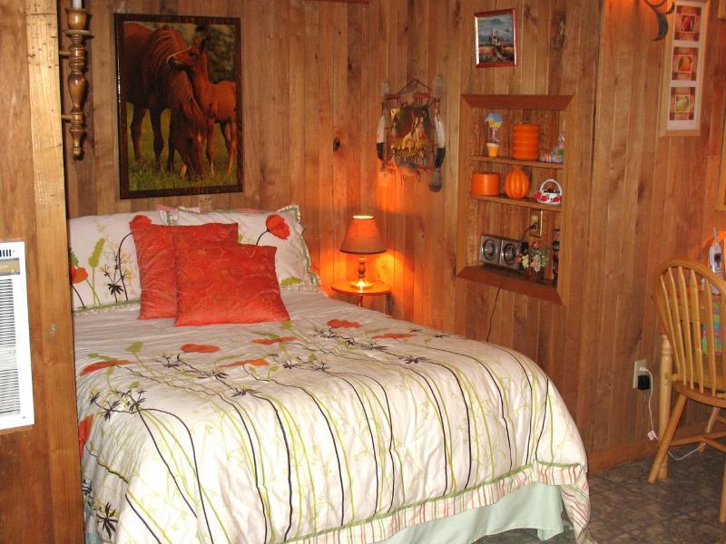 alcova letto camera da letto