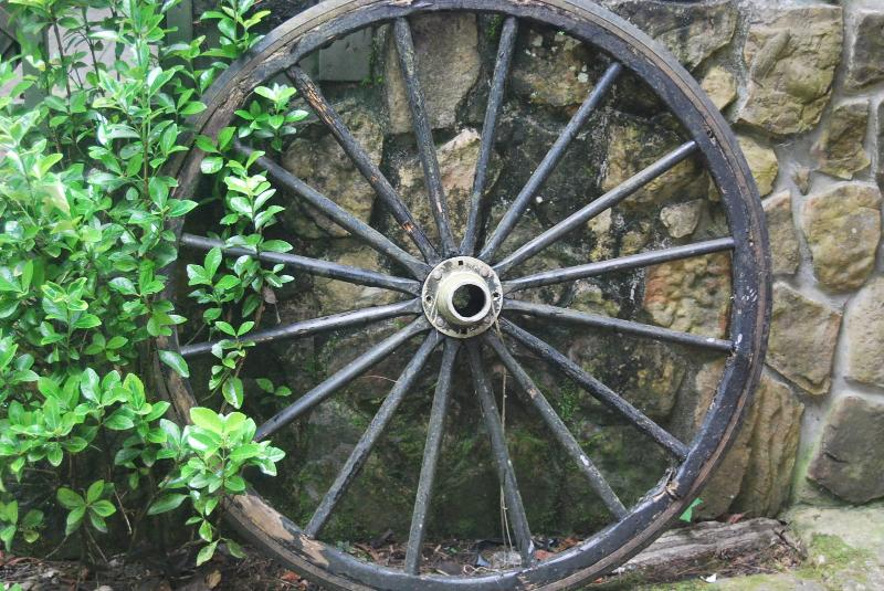 una ruota da ricordare vecchi giorni più lenti