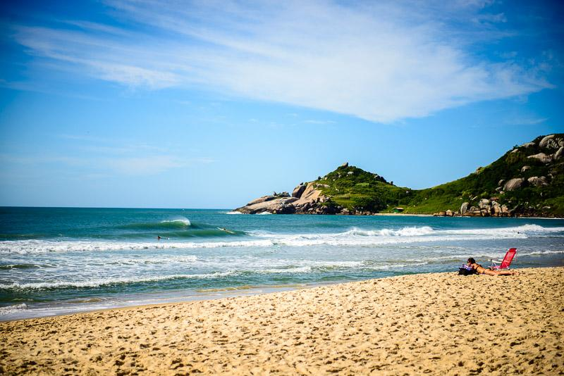 Our location - Praia Mole Beach