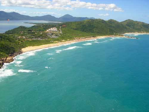 Our location Praia Mole