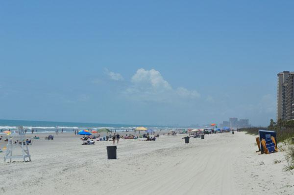 Beach Access looking South