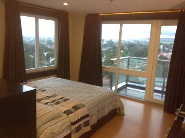 Schlafzimmer-Panoramablick