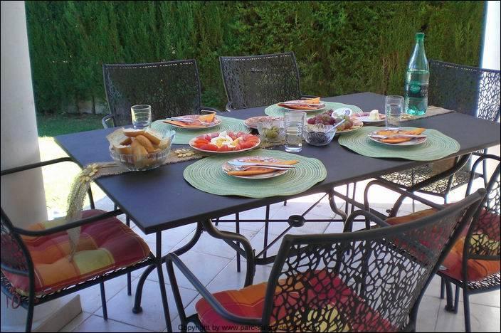 Terasse and garden furniture