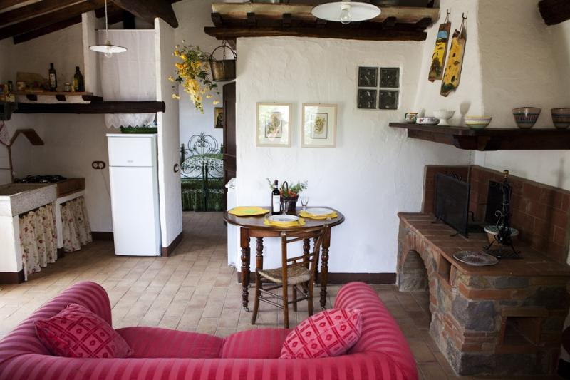 Romantic Cottage in Tuscany, holiday rental in Radicofani