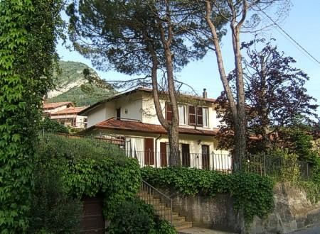 Villa Olivia, a detached property.  The holiday apartment is on the ground floor.