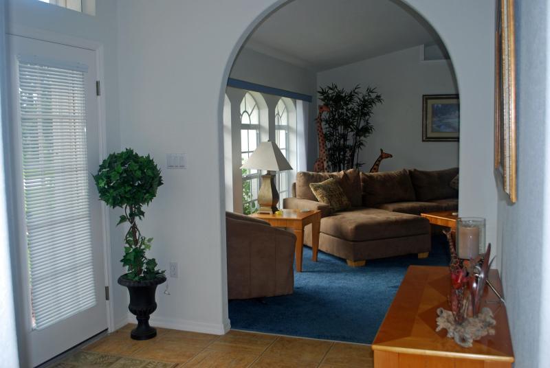 Foyer in formalen Wohnzimmer