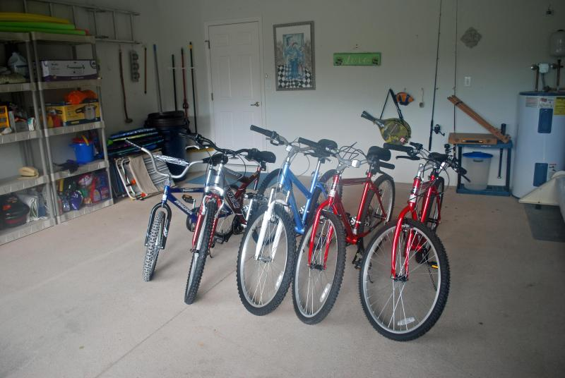 5 Bikes zur Erholung auf mehrere Kilometer Loipen