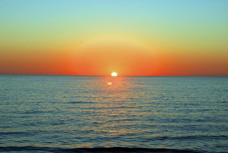 Wunderschöner Sonnenuntergang in Englewood Beach